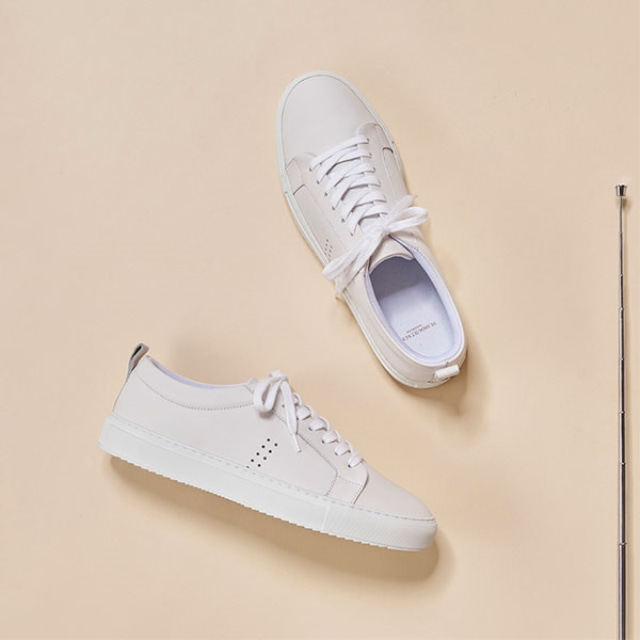 Mens Brice White Sneakers